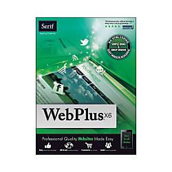 Serif WebPlus X6 Download Version