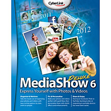 CyberLink MediaShow 6 Deluxe Download Version