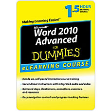 Word 2010 For Dummies Advanced 6