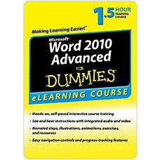 Word 2010 For Dummies Advanced 30