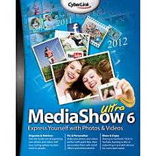 CyberLink MediaShow 6 Ultra Download Version