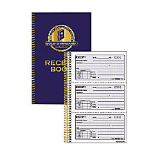 Rediform Gold Standard Receipt Book 225