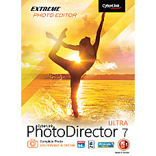 CyberLink PhotoDirector 7 Ultra Traditional Disc