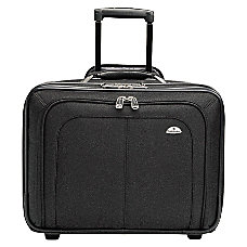 Samsonite Zip Away Ballistic Rolling Notebook