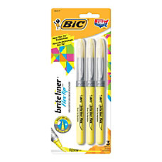 BIC Brite Liner Highlighters Flex Tip