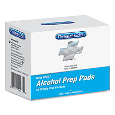 Acme Alcohol Prep Pads Box Of