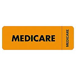 Tabbies Permanent Medicare Insurance Label Roll