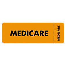 Tabbies Permanent Medicare Insurance Label Roll