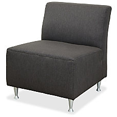Lorell Fuze Lounger Chair Square Base
