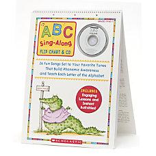 Scholastic ABC Flip ChartCD