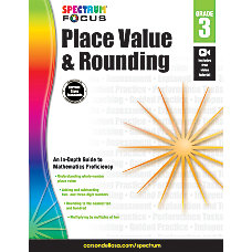 Spectrum Place Value and Rounding Grade