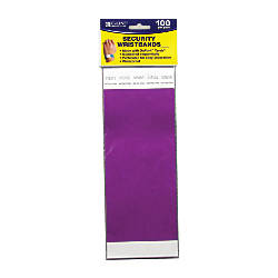 C Line DuPont Tyvek Security Wristbands