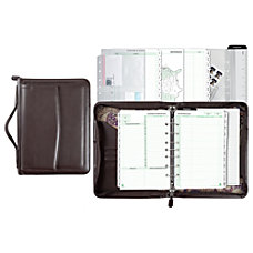 Day Timer Briefcase Simulated Leather Starter