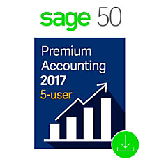 Sage 50 Premium Accounting 2017 US