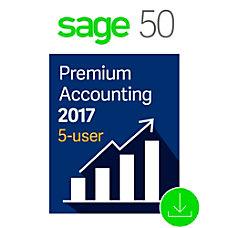 Sage 50 Premium Accounting 2017 US
