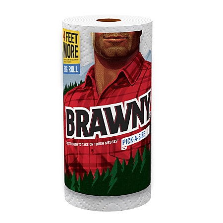 Take $ off with this exclusive printable coupon for Brawny paper towels.