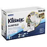Kleenex Slimfold Towel Starter Kit White