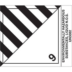 Tape Logic Preprinted Labels Environmentally Hazardous