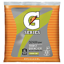 Gatorade Powdered Mix Pouches Lemon Lime