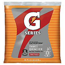 Gatorade Powdered Mix Pouches Fruit Punch