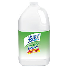 Lysol Professional Pine Action Cleaner 1