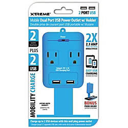 Xtreme Cables 2 Outlet Wall Tap