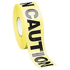 Tatco Caution Barricade Tape 3 x