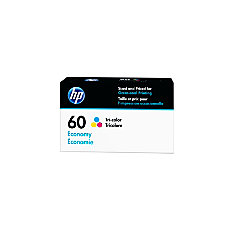 HP 60 Economy Yield Tricolor Ink