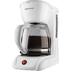 Black Decker 12 Cup Switch Coffee