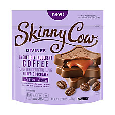 Skinny Cow Divines Chocolates Coffee Filled