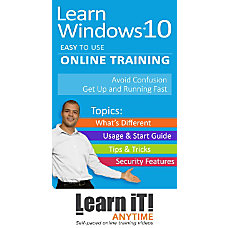 LearniT Anytime Online Windows 10 Training