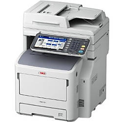 Oki MB770 LED Multifunction Printer - Monochrome - Plain Paper Print - Desktop