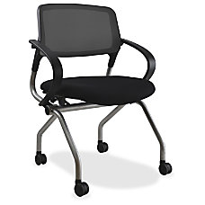 Lorell Mesh Back Training Chair Plywood