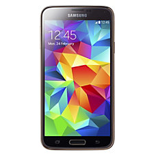 Samsung Galaxy S5 Cell Phone Gold