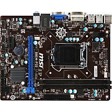MSI B85M P33 Desktop Motherboard Intel