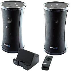 Sabrent SP-NELO Speaker System - 8 W RMS - Wireless Speaker(s)