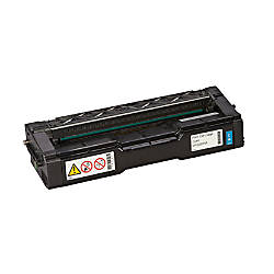 Ricoh Toner Cartridge RIC407654 Cyan