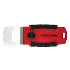 Office Depot Brand Razor Scraper