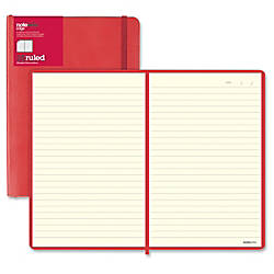 Blueline L5 Ruled Notebooks Sewn Red