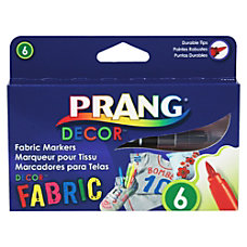 PRANG DECOR FABRIC Markers Brush Point