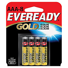 Eveready Gold Alkaline AAA Batteries Pack