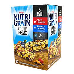Nutri Grain Fruit Nut Granola Bars
