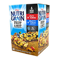 Nutri Grain Fruit Nut Granola Bars