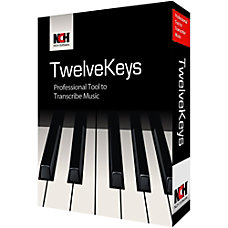TwelveKeys Music Transcription Assistant Download Version