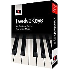 TwelveKeys Music Transcription Assistant Download Version