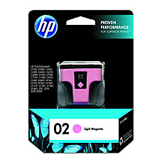 HP 02 Light Magenta Original Ink