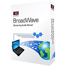 BroadWave Streaming Audio Server Download Version