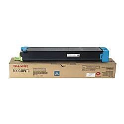 Sharp SHRMXC40NTC Cyan Toner Cartridge