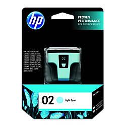 Hp 02 Light Cyan Original Ink Cartridge C8774wn By Office