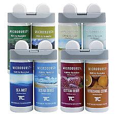 Rubbermaid Microburst Duet Refills Variety Carton